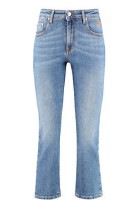 Embellished cropped jeans, Cropped Jeans MSGM woman