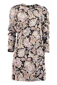 Draped mini dress, Printed dresses Zimmermann woman