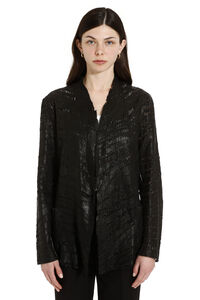 Carved leather jacket, Leather Jackets Salvatore Santoro woman