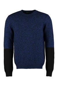 Wool and cashmere sweater, Crew necks sweaters Prada man