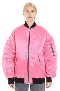 Padded bomber jacket, Bomber MSGM woman