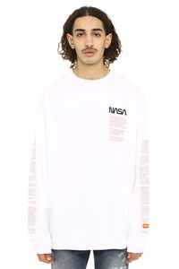 Nasa printed cotton long-sleeve T-shirt, Long sleeve t-shirts Heron Preston man