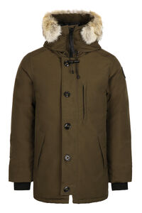 Chateau hooded parka - Black Label, Parkas Canada Goose man