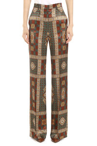 Printed wide-leg trousers, Flared pants Etro woman