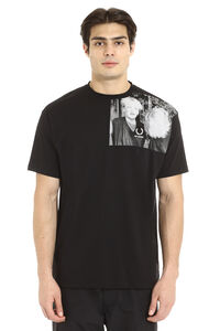 Raf Simons x Fred Perry - Crew-neck cotton T-shirt, Short sleeve t-shirts Fred Perry man