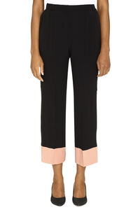 Cropped trousers, Cropped pants N°21 woman