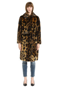 Irina faux fur coat, Faux Fur and Shearling Stand Studio woman