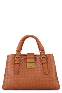 Roma Intrecciato handbag, Top handle Bottega Veneta woman