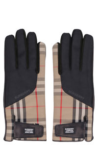 Leather gloves, Gloves Burberry woman