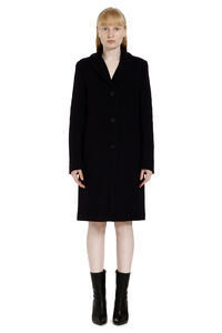 Wool blend coat, Knee Lenght Coats MSGM woman