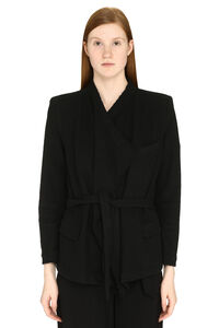 Summy belted jacket, Blazers Iro woman