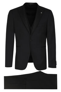 Three-piece wool suit, Suits Tagliatore man