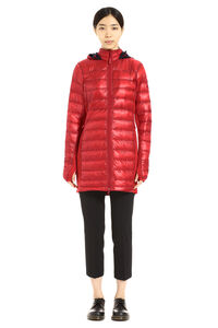 Hybridge Lite long hooded down jacket, Down Jackets Canada Goose woman