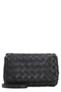 Intrecciato Nappa mini crossbody bag, Shoulderbag Bottega Veneta woman