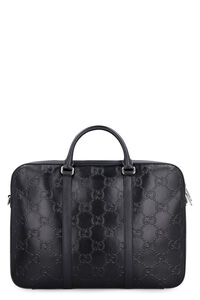Leather briefcase, Briefcases Gucci man