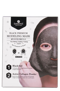 Black Premium Modeling Mask, Face Shangpree woman