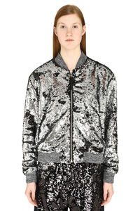 Reversible sequins bomber jacket, Bomber Golden Goose woman