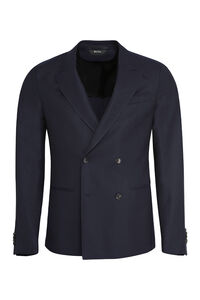 Double-breasted wool blazer, Double breasted blazers Z Zegna man