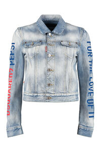 Denim jacket - Dsquared2 X Pepsi, Denim Jackets Dsquared2 woman