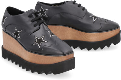 Elyse lace-up shoes with stars