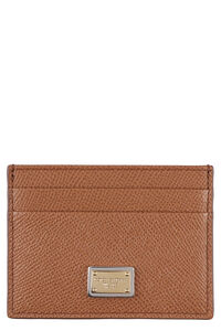 Leather card holder, Wallets Dolce & Gabbana woman