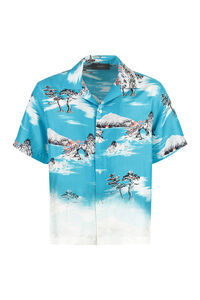 Faded Aloha short sleeve silk shirt, Short sleeve Shirts AMIRI man