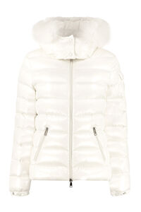 Badyfur full zip padded jacket, Down Jackets Moncler woman