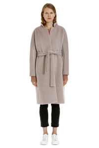 Resort Brina hidden button coat, Knee Lenght Coats Herno woman