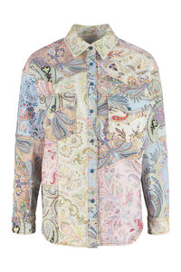 Printed denim jacket, Denim Jackets Etro woman