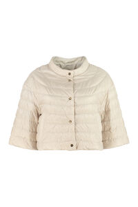 Disoft snap button fastening down jacket, Down Jackets Max Mara The Cube woman