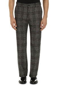 Prince of Wales check trousers, Formal trousers Dolce & Gabbana man