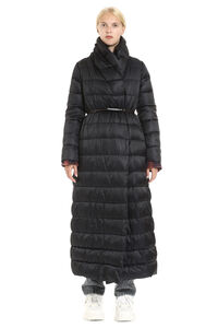Novela reversible down jacket with double waist belt, Down Jackets Max Mara woman