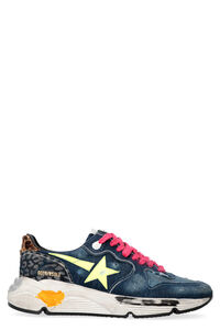 Running Sole denim low-top sneakers, Low Top Sneakers Golden Goose man