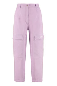 Cotton cargo-trousers, Tapered pants Stella McCartney woman