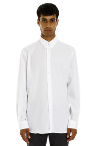 Cotton shirt with button-down collar, Plain Shirts Givenchy man