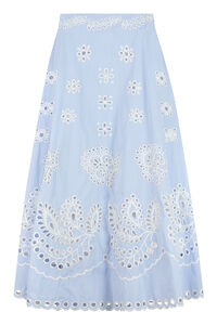 Printed cotton skirt, Printed skirts Red Valentino woman