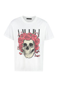 Printed cotton T-shirt, Short sleeve t-shirts AMIRI man