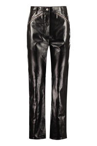 Leather trousers, Leather pants ALEXACHUNG woman