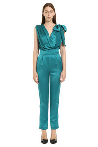 Paradise satin jumpsuit, Evening jumpsuits Pinko woman
