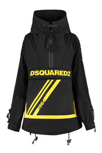 Oversize hooded anorak, Raincoats And Windbreaker Dsquared2 woman