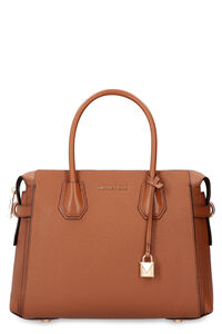 Mercer leather handbag, Top handle MICHAEL MICHAEL KORS woman