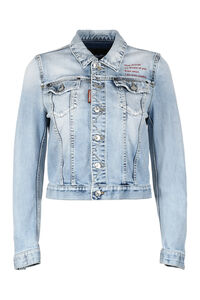 Denim jacket, Denim Jackets Dsquared2 woman