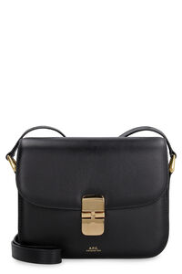 Leather crossbody bag, Shoulderbag A.P.C. woman