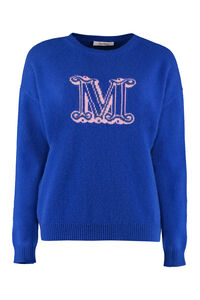 Cannes cashmere pullover, Crew neck sweaters Max Mara woman