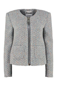 Boucle wool jacket, Casual Jackets Moschino woman