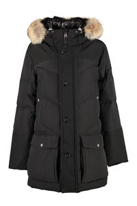 Arctic parka with fur hood, Down jackets Woolrich man