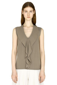 Knitted viscosa-blend top, Blouses Max Mara woman