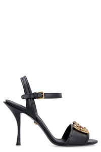 Leather heeled sandals, High Heels sandals Dolce & Gabbana woman