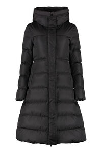 Chondrille long hooded down jacket, Down Jackets Moncler woman