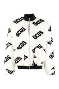 Faux fur bomber jacket, Bomber jackets GCDS man